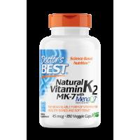 Witamina K2 MK-7 45 mcg (180 kaps.) Doctor's Best