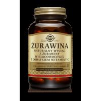 Żurawina - ekstrakt 400 mg + Witamina C 60 mg (60 kaps.) Solgar