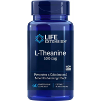 L-Teanina 100 mg (60 kaps.) Life Extension