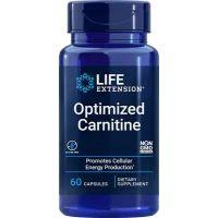 Optimized Carnitine - ALCAR + Arginian Acetylo-L-Karnityny + GPLC (60 kaps.) Life Extension
