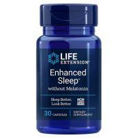 Enhanced Sleep without Melatonin (30 kaps.) Life Extension
