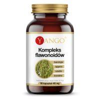 Kompleks flawonoidów - Kwercetyna + Apigenina + Luteolina + Bromelaina (90 kaps.) Yango