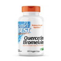 Quercetin Bromelain - Kwercetyna 250 mg + Bromelaina 125 mg (180 kaps.) Doctor's Best