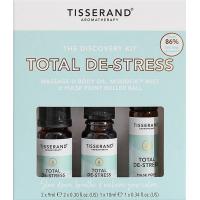 Total De-stress Discovery Kit - Zestaw olejków eterycznych na odprężenie (2 x 9 ml, 1 x 10 ml) Tisserand