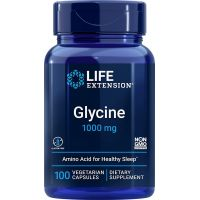 Glycine - Glicyna 1000 mg (100 kaps.) Life Extension