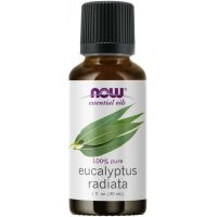 100% Olejek eukaliptusowy (Eucalyptus radiata) (30 ml) NOW Foods