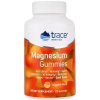 Magnesium Gummies - Magnez /cytrynian magnezu/ 84 mg (120 żelek) Trace Minerals