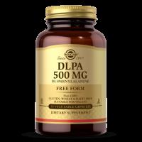 DLPA - D-Fenyloalanina 250 mg + L-Fenyloalanina 250 mg (50 kaps.) Solgar
