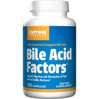 Bile Acid Factors - Kwasy Żółciowe (120 kaps.) Jarrow Formulas