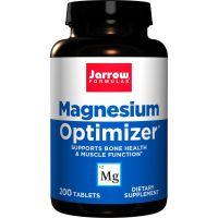 Magnesium Optimizer - Magnez /jabłczan magnezu/ + Witamina B6 (P5P) + Potas + Tauryna (200 tabl.) Jarrow Formulas