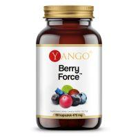 Berry Force - Kompleks 6 owoców jagodowych (90 kaps.) Yango