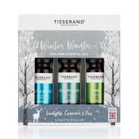 """Pakiet 3 olejków eterycznych """"Winter Woodland"""" w świątecznym opakowaniu (3 x 9 ml) Tisserand"""