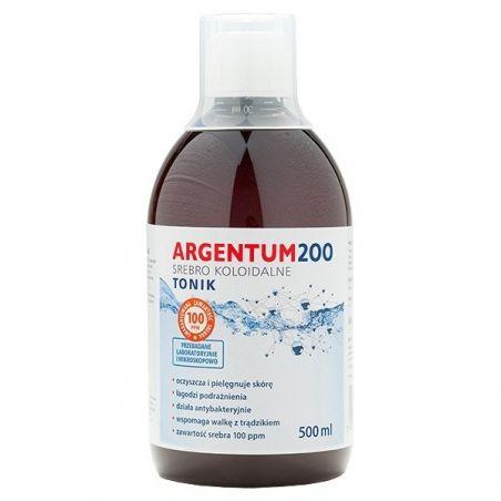 Argentum200 Srebro Koloidalne 100 ppm (500 ml) Aura Herbals