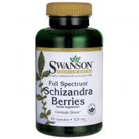 Schizandra (Cytryniec Chiński) 525 mg (90 kaps.) Swanson