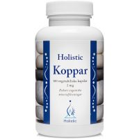 Koppar - Miedź 2 mg (100 kaps.) Holistic