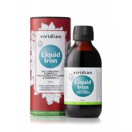 BIO Liquid Iron Żelazo w płynie (200 ml) Viridian