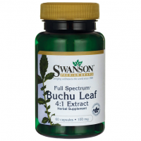 Full Spectrum Buchu Leaf - Bukko brzozowe 100 mg (60 kaps.) Swanson