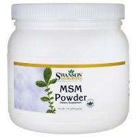 Metylosulfonylometan - MSM proszek (454 g) Swanson