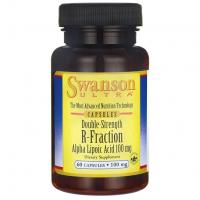 R-ALA - Kwas R-alfa liponowy 100 mg (60 kaps.) Swanson