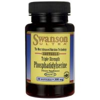 Fosfatydyloseryna - potrójna moc 300 mg (30 kaps.) Swanson