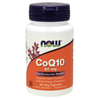 Koenzym Q10 60 mg (60 kaps.) Now Foods
