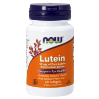 Luteina 10 mg (60 kaps.) Now Foods