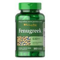 Fenugreek - Kozieradka 610 mg (100 kaps.) Puritan's Pride