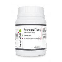 Resveratrol trans zmikronizowany 100 mg (300 kaps.) Kenay AG