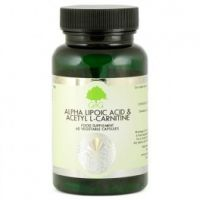Kwas Alfa Liponowy i Acetyl L-Karnityna (60 kaps.) G&G