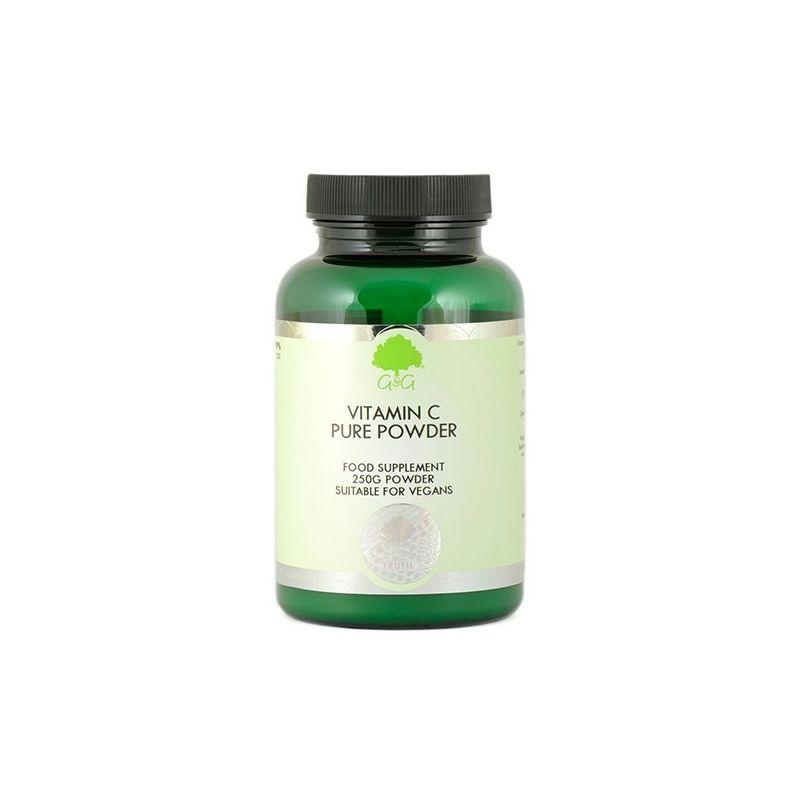 Czysty Kwas Askorbinowy  - Witamina C w proszku (250 g) G&G