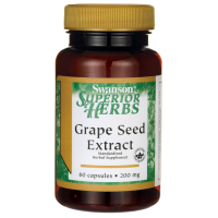 Ekstrakt z Nasion Winogron (Grape Seed Extract) - MegaNatural-BP (60 kaps) Swanson