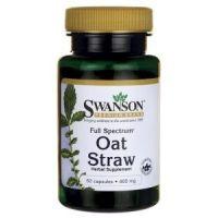FS Oat Straw - Owies zwyczajny 400 mg (60 kaps.) Swanson