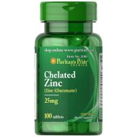 Zinc Picolinate - Pikolinian cynku 25 mg (100 tabl.) Puritan's Pride