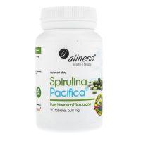 Spirulina hawajska Pacifica 500 mg Cyanotech (90 tabl.) Aliness