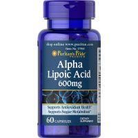 Kwas Alfa Liponowy 600 mg (60 kaps.) Puritan's Pride