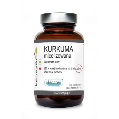 Kurkuma micelizowana 800 mg (60 kaps.) KenayAG