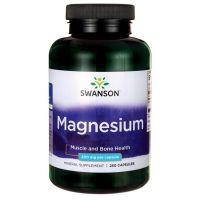 Magnesium - tlenek magnezu 200 mg (250 kaps.) Swanson