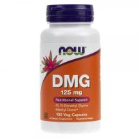 DMG (N-Dimetyloglicyna) 125 mg (100 kaps.) Now Foods