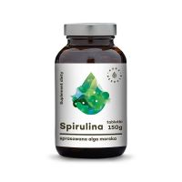 Spirulina w tabletkach (600 tabl.) Aura Herbals