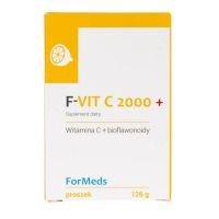 F-Vit C 2000 - Witamina C + Bioflawonoidy (126 g) ForMeds