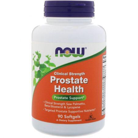 Clinical Prostate Health - Kompleks na Prostatę (90 kaps.) NOW Foods