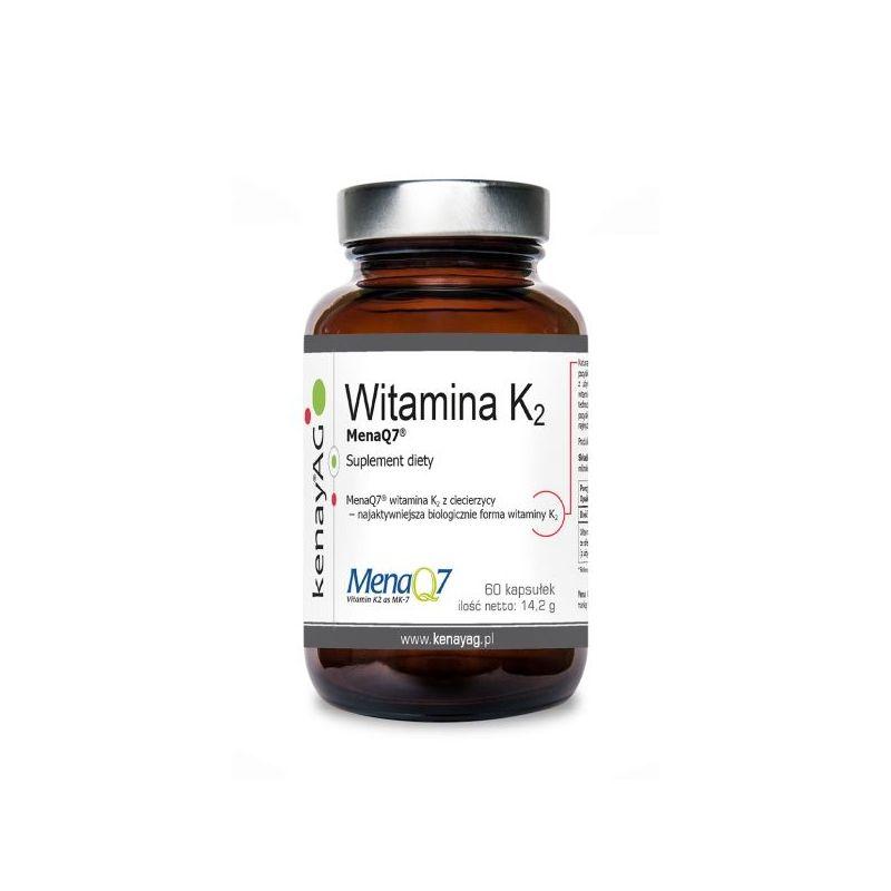 Witamina K2 MK7 (60 kaps.) KenayAG