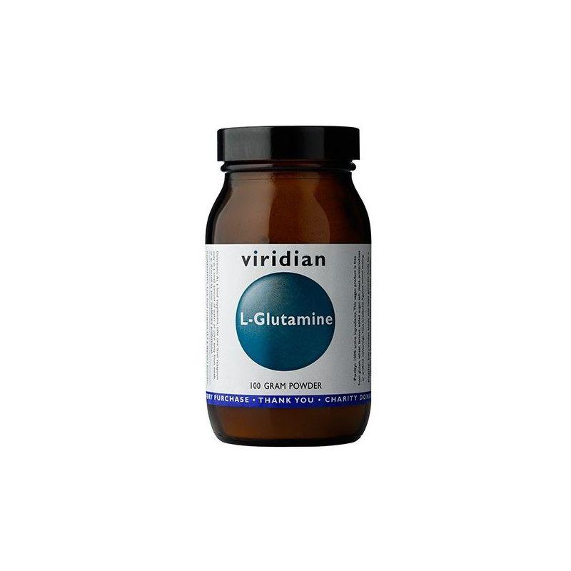 L-Glutamina (100 g) Viridian