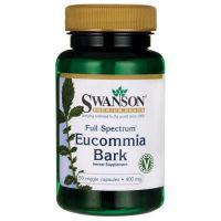 FS Eucommia Bark - Eukomia wiązowata 400 mg (60 kaps.) Swanson
