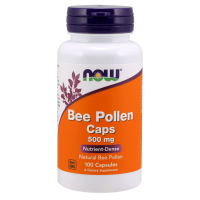 Bee Pollen - Pyłek Pszczeli 500 mg (100 kaps.) NOW Foods