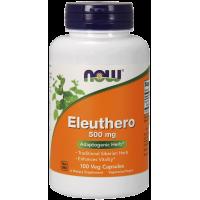 Eleuthero 500 mg - Żeń-szeń Syberyjski (100 kaps.) NOW Foods