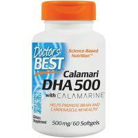 Calamari Omega 3 DHA 500 mg EPA 50 mg (60 kaps.) Doctor's Best