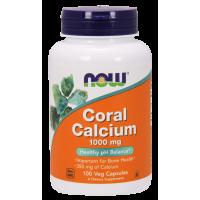 Wapno Koralowe (Coral Calcium) - Wapno z Koralowca 1000 mg (100 kaps.) NOW Foods