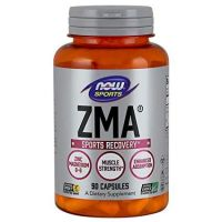 ZMA - Cynk, Magnez i Witamina B6 (90 kaps.) NOW Foods