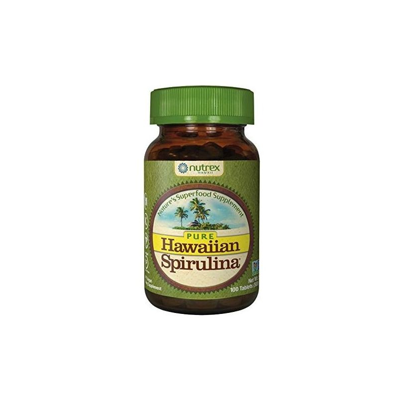 Spirulina hawajska Pacifica 500 mg (100 tabl.) Cyanotech
